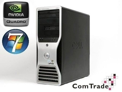 DELL Precision T3400 Core2 Duo 3.0 GHz / 4 GB / 160 GB / DVD / Win7