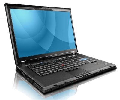"IBM/Lenovo T500 Core 2 Duo 2,4 / 3 GB / 160 / DVD-RW / 15,4"" / Windows 7"