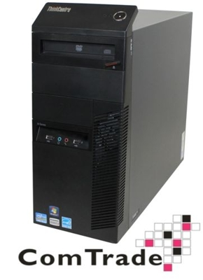 Lenovo M91p Tower Core i3 2100 3.1 GHz / 8 GB / 240 SSD / DVD-RW / Win7 Prof.